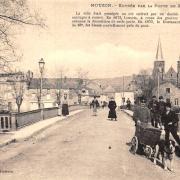 Mouzon (08) Porte de France CPA