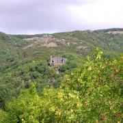 Murat-sur-Vèbre (Tarn) Canac, ruines du château