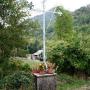 Murat-sur-Vèbre (Tarn) Canac, croix