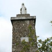 Murat-sur-Vèbre (Tarn) Castelas, la Vierge