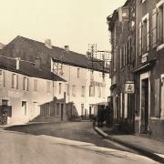 Murat-sur-Vèbre (Tarn) CPA Avenue de Lacaune