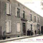 Murat-sur-Vèbre (Tarn) CPA Grand hôtel