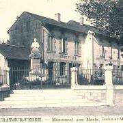 Murat-sur-Vèbre (Tarn) CPA Monument aux morts