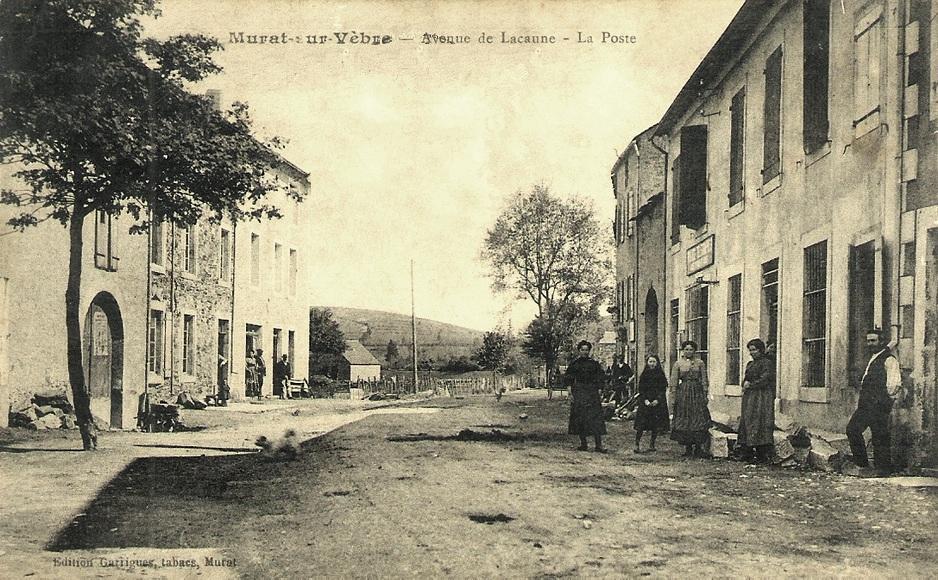 Murat-sur-Vèbre (Tarn) CPA Bureau de Poste