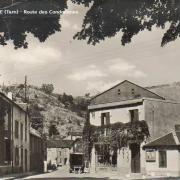 Murat-sur-Vèbre (Tarn) CPA Route des Condomines