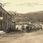 Murat-sur-Vèbre (Tarn) CPA Tabac