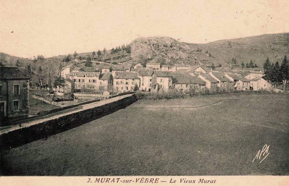 Murat-sur-Vèbre (Tarn) CPA