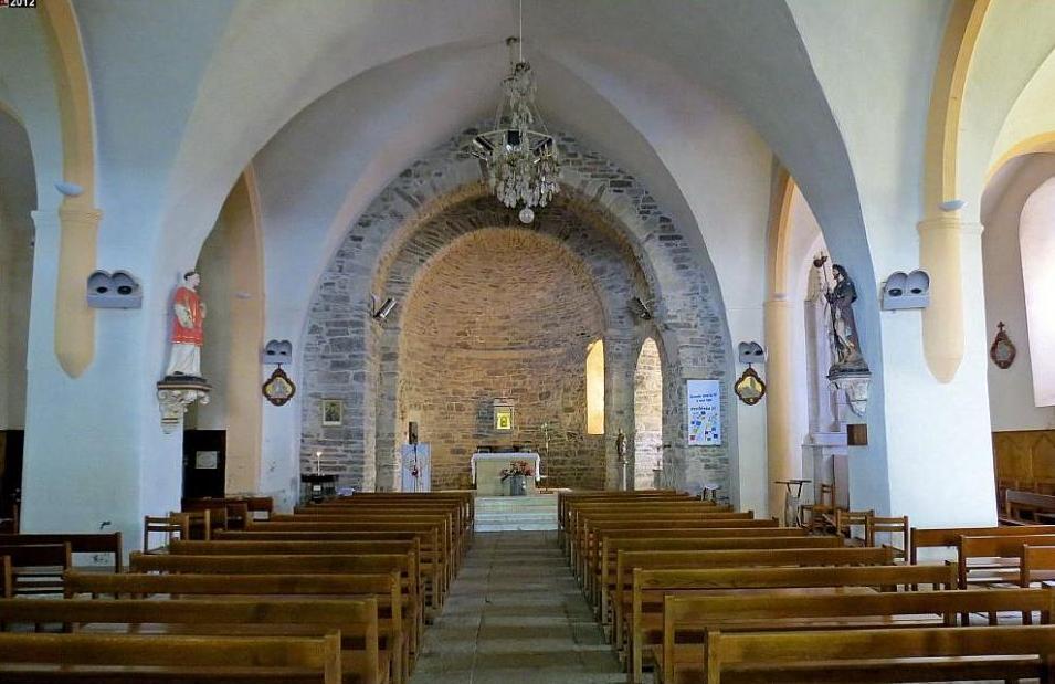 Murat-sur-Vèbre (Tarn) Eglise Saint Etienne de Murat