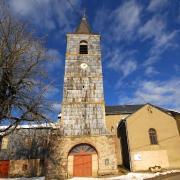 Murat-sur-Vèbre (Tarn) La Bessière, église Saint-Pierre-et-Saint-Paul