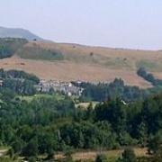 Murat-sur-Vèbre (Tarn) Vue panoramique