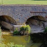 Murat-sur-Vèbre (Tarn) Pont sur la Vèbre