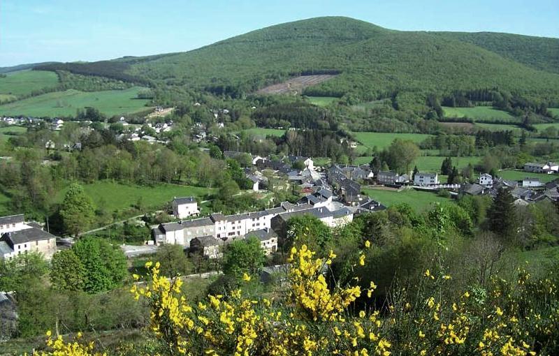 Murat-sur-Vèbre (Tarn) Vue générale