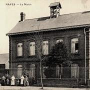 Naves 59 la mairie cpa