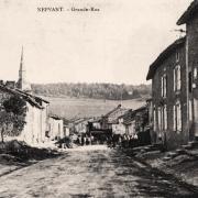 Nepvant (Meuse) La Grande Rue CPA
