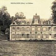 Neuville bosc oise le chateau cpa