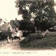 Neuville bosc oise tumbrel cpa