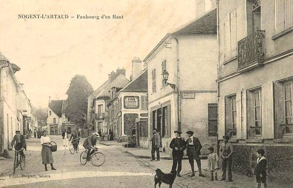 Nogent l'Artaud (Aisne) CPA Faubourg d'en-haut