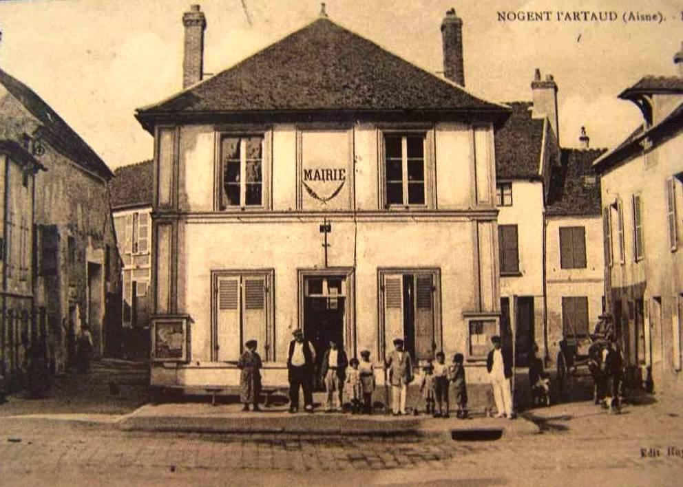 Nogent l'Artaud (Aisne) CPA Mairie