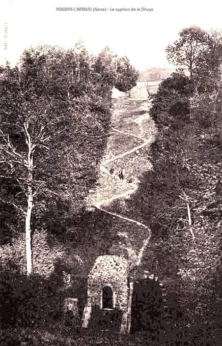 Nogent l'Artaud (Aisne) CPA Syphon de la Dhuys