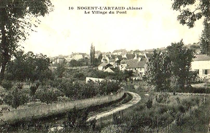 Nogent l'Artaud (Aisne) CPA