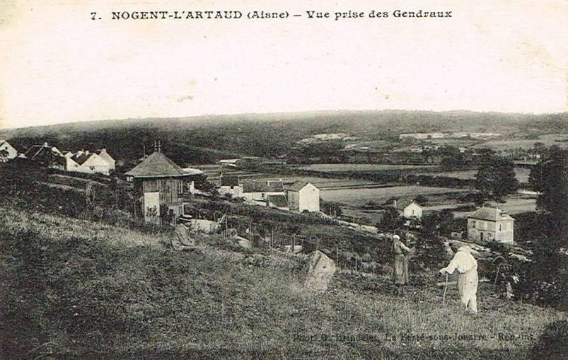 Nogent l'Artaud (Aisne) CPA Les Gendreaux