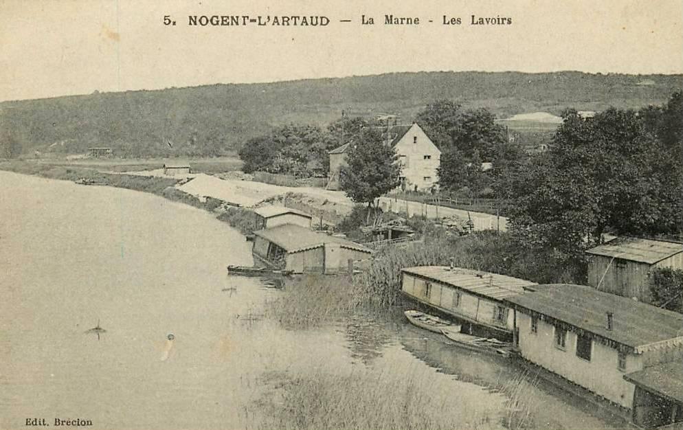 Nogent l'Artaud (Aisne) CPA Lavoirs