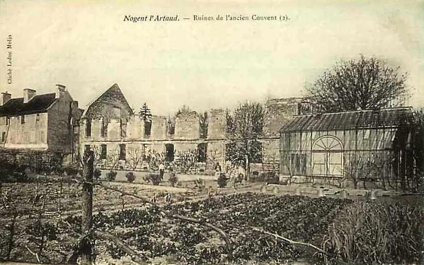 Nogent l'Artaud (Aisne) CPA Abbaye royale Sainte Claire