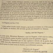 Nogent l'Artaud (Aisne) Gisant d'Artaud