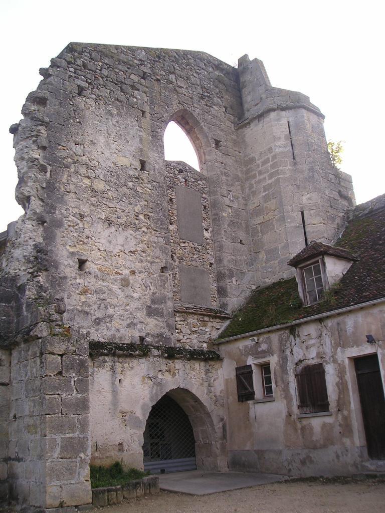 Nogent l'Artaud (Aisne) Abbaye royale Sainte Claire en 2004