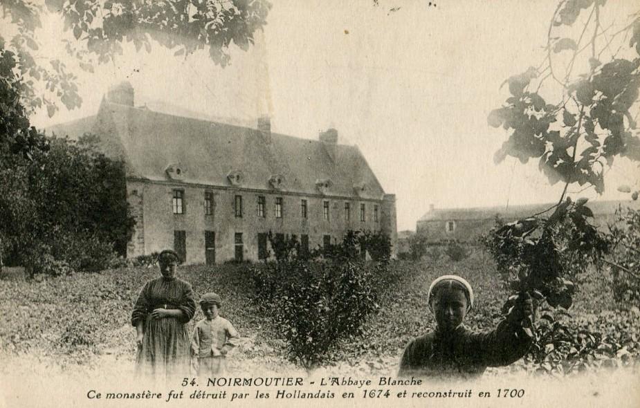 Noirmoutier-en-l'Ile (Vendée) Abbaye N-D la Blanche CPA
