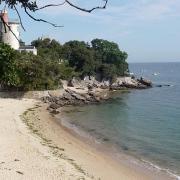 Noirmoutier-en-l'Ile (Vendée) Anse rouge et Tour Plantier