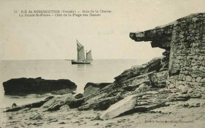 Noirmoutier-en-l'Ile (Vendée) Bois de La Chaise CPA
