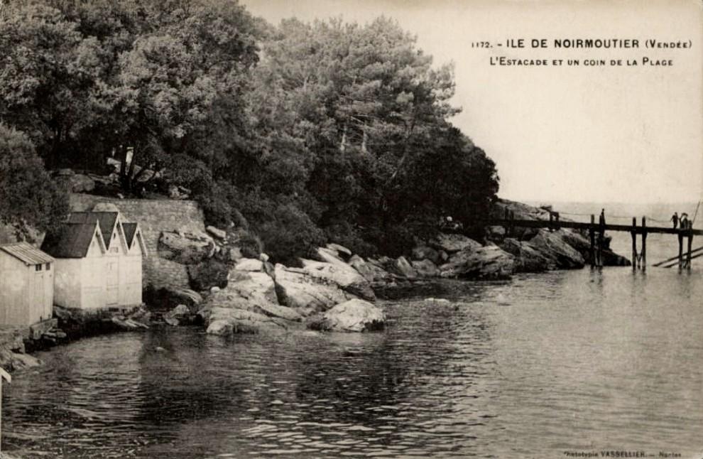 Noirmoutier-en-l'Ile (Vendée) L'Estacade CPA