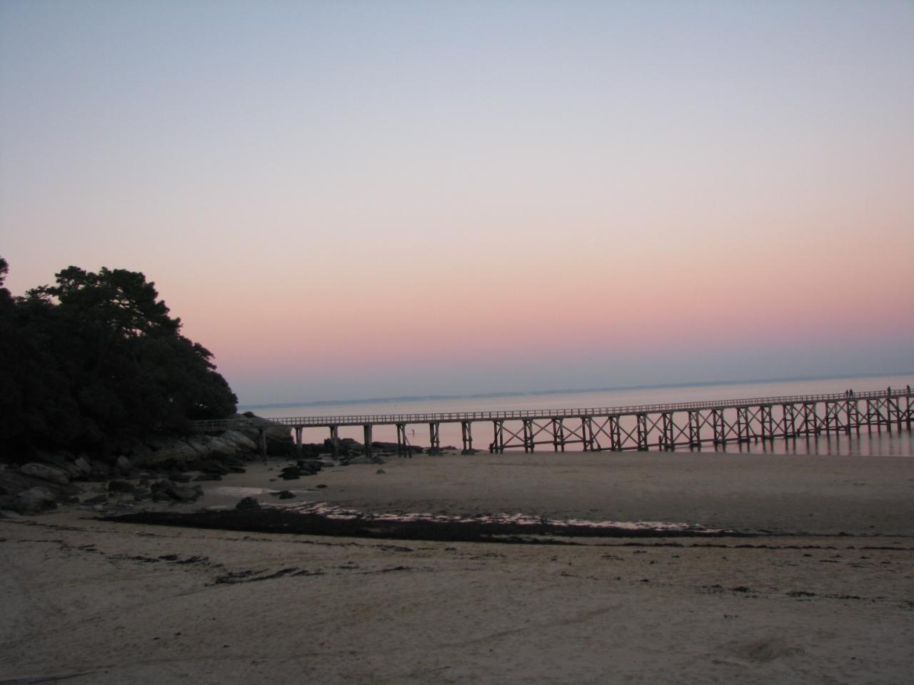 Noirmoutier-en -l'Ile (Vendée) L'Estacade en 2014