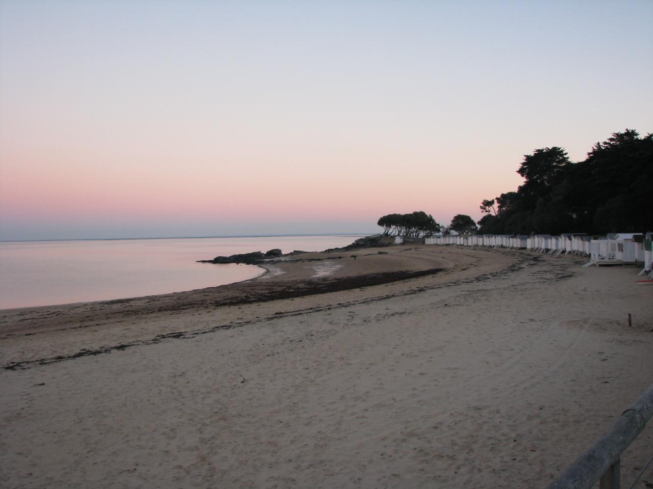 Noirmoutier-en-l'Ile (Vendée) La Plage des Dames en 2014