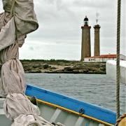 Noirmoutier-en-l'île (Vendée) Lîlot du Pilier, le phare