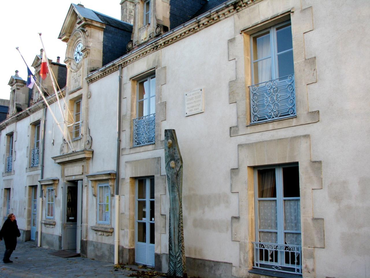 Noirmoutier-en-l'Ile (Vendée) La mairie  en 2014