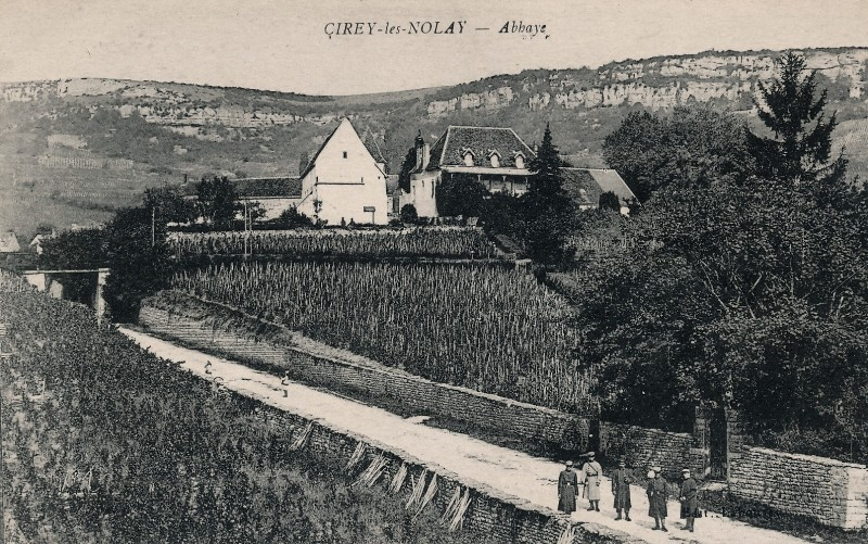 Nolay (Côte d'Or) Cirey, l'abbaye CPA