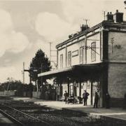 Nolay (Côte d'Or) La gare CPA
