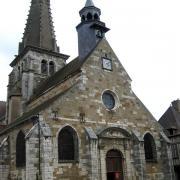 Nolay (Côte d'Or) L'église Saint-Martin
