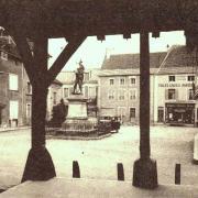 Nolay (Côte d'Or) Vue prise de la halle CPA