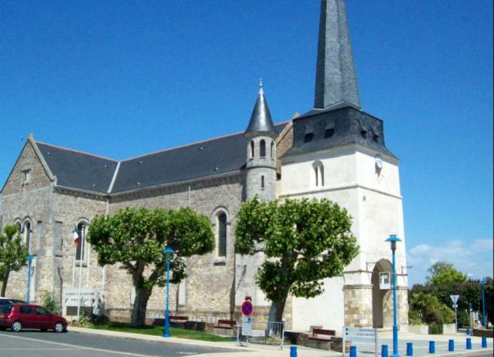 Notre-Dame-de-Monts (Vendée) L'église