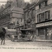 Noyon oise cpa 1914-1918 en ville