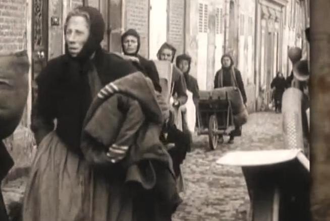 Noyon oise cpa 1919 2ème evacuation