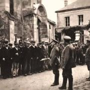 Noyon oise cpa 1914 1918 execution sommaire