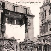 Noyon oise cpa 1919 le pensionnat saint thomas