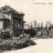 Noyon oise cpa 1914 1918 salle des fetes