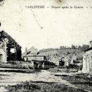 Noyon oise cpa 1914 1918 tarlefesse eglise