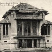 Noyon oise cpa 1914 1918 theatre