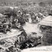 Noyon oise cpa 1914 1918 vue generale